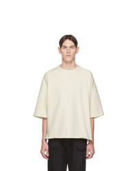 Jil Sanderand Off White Three Quarter Sleeve Sweatshirt