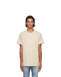 John Elliott Taupe Anti Expo T Shirt