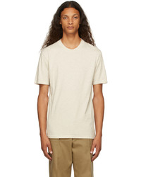 Maison Margiela Three Pack White Off White Organic Cotton T Shirts