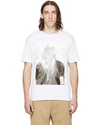 Palm Angels White Iconic T Shirt
