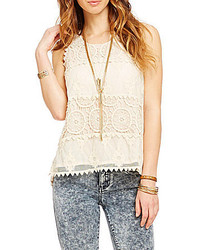 Freeway Crochet Panel Top