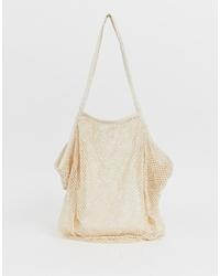 ASOS DESIGN Beach String Shopper Bag