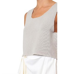 0e142078b07ad COM › Beige Cropped Tops Baja East Ribbed Knit Cashmere Tank Top Baja East  Ribbed Knit Cashmere Tank Top Baja East Ribbed Knit Cashmere Tank Top ...