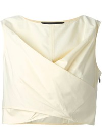 Marc by Marc Jacobs Wrap Style Cropped Top