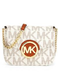 b96267928987 ... Out of stock · MICHAEL Michael Kors Michl Michl Kors Fulton Small Logo  Crossbody Bag Vanilla