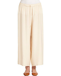 The row nopraw drape culotte pants medium 230804
