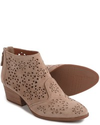 Franco Sarto Ashley Ankle Boots Suede