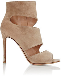 Gianvito Rossi Caged Lace Up Sandals