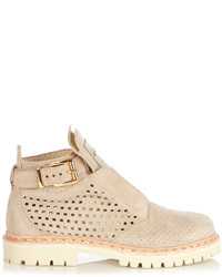 King perforated suede ankle boots medium 3664897