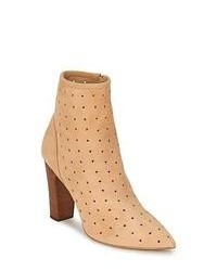 See by Chloe See By Chlo Suede Beige Low Ankle Boots