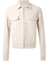 Beige Denim Jacket