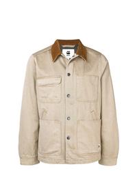 G-Star Raw Research Contrast Collar Denim Jacket