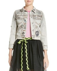 Marc Jacobs Overdye Bleach Denim Jacket