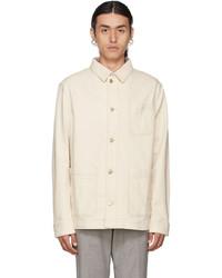 BOSS Off White Denim Moore Jacket