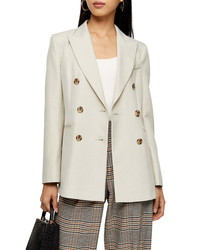 Topshop Double Breasted Blazer