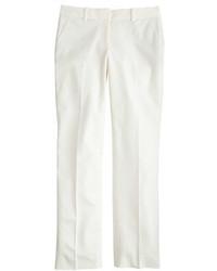 J.Crew Campbell Trouser In Bi Stretch Cotton