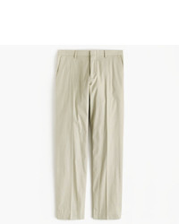 J.Crew Ludlow Suit Pant In Italian Cotton Piqu
