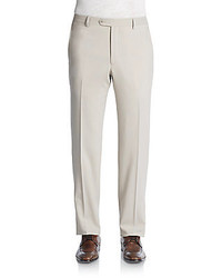 Santorelli Stretch Wool Trousers