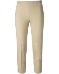 Piazza Sempione Slim Fit Cropped Trousers