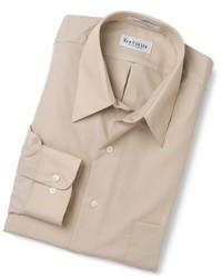 Van Heusen Regular Fit Wrinkle Free Poplin Long Sleeve Shirt