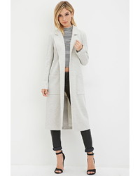Forever 21 Open Front Duster Coat