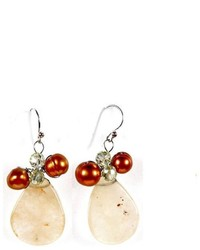 Ananda Handcrafted Petal Earrings