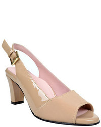 Taryn Rose Fortula Patent Leather Slingback Pumps