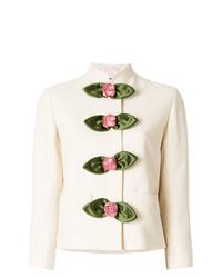Gucci Rose Embellished Jacket