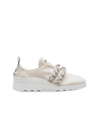 Miu Miu Slip On Sneakers