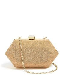 Beige Embellished Clutch