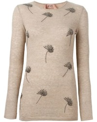 No.21 No21 Embellished Sweater