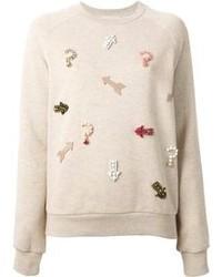 Stella McCartney Embellished Arrow Sweatshirt