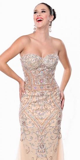 Evening dresses by atria