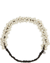 Maison michel astrid faux pearl headband medium 104948