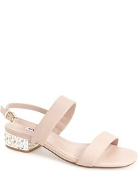 Dune London Ninah Embellished Block Heel Sandal