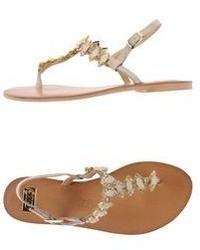 Ex By Tsakiris Mallas Thong Sandals