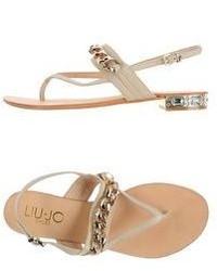 Liu Jo Shoes Thong Sandals