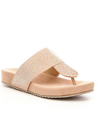 Volatile Joanna Rhinestone Embellished Sandals