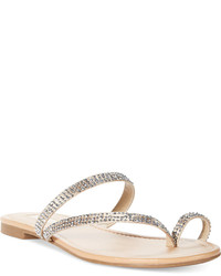 INC International Concepts Mistye Thong Flat Sandals Created For Macys Shoes