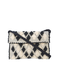 Texture embroidered clutch bag medium 7486249