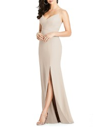 c452564e10d Dessy Collection Crisscross Seam Crepe Gown
