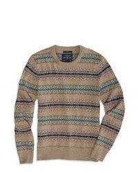 American Eagle Outfitters Fair Isle Sweater L