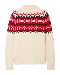 &Daughter Bansha Fair Isle Wool Sweater