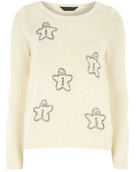Dorothy Perkins Ivory Gingerbread Jumper