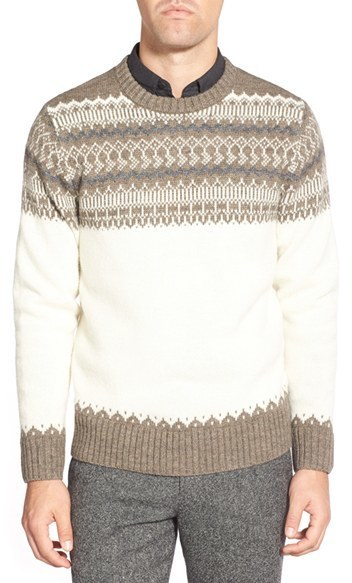 Bonobos Fair Isle Crewneck Sweater | Where to buy & how to wear