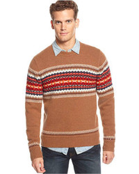 Sheldon fair isle sweater medium 74522