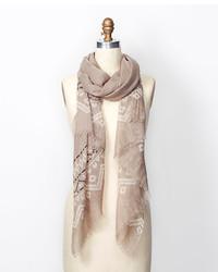 Ann taylor modern fair isle scarf medium 126057