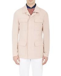 Luciano Barbera Field Jacket Tan Size M