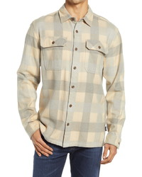 Patagonia Dye Fjord Flannel Button Up Organic Cotton Shirt