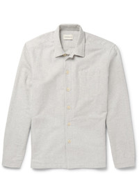 Oliver Spencer Loungewear Cotton Flannel Overshirt